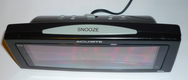 The giant snooze button is what all snooze buttons should be.