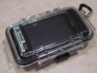 The i1015 waterproof iPhone case from Pelican
